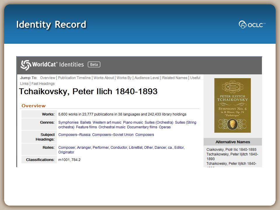 Identity Record