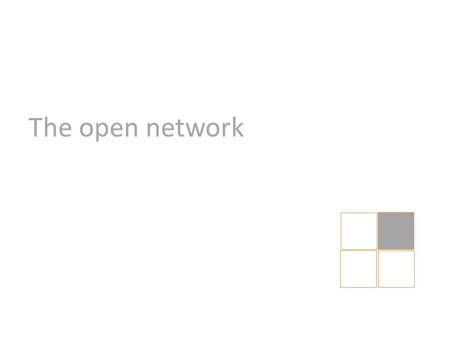 The open network