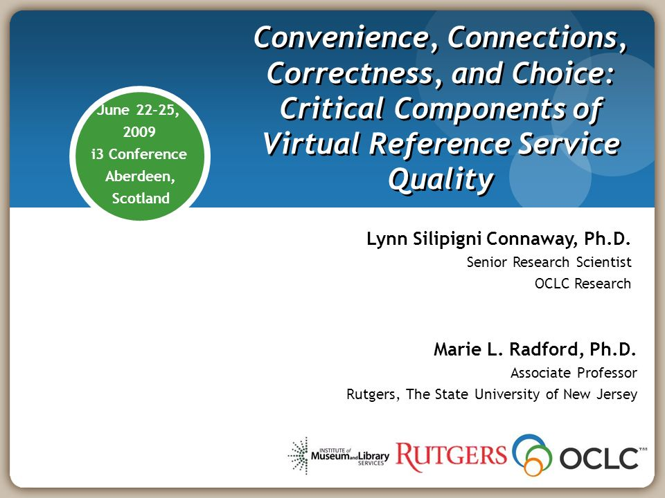Critical Components Research to understand needs of diverse user population Design services to meet users needs