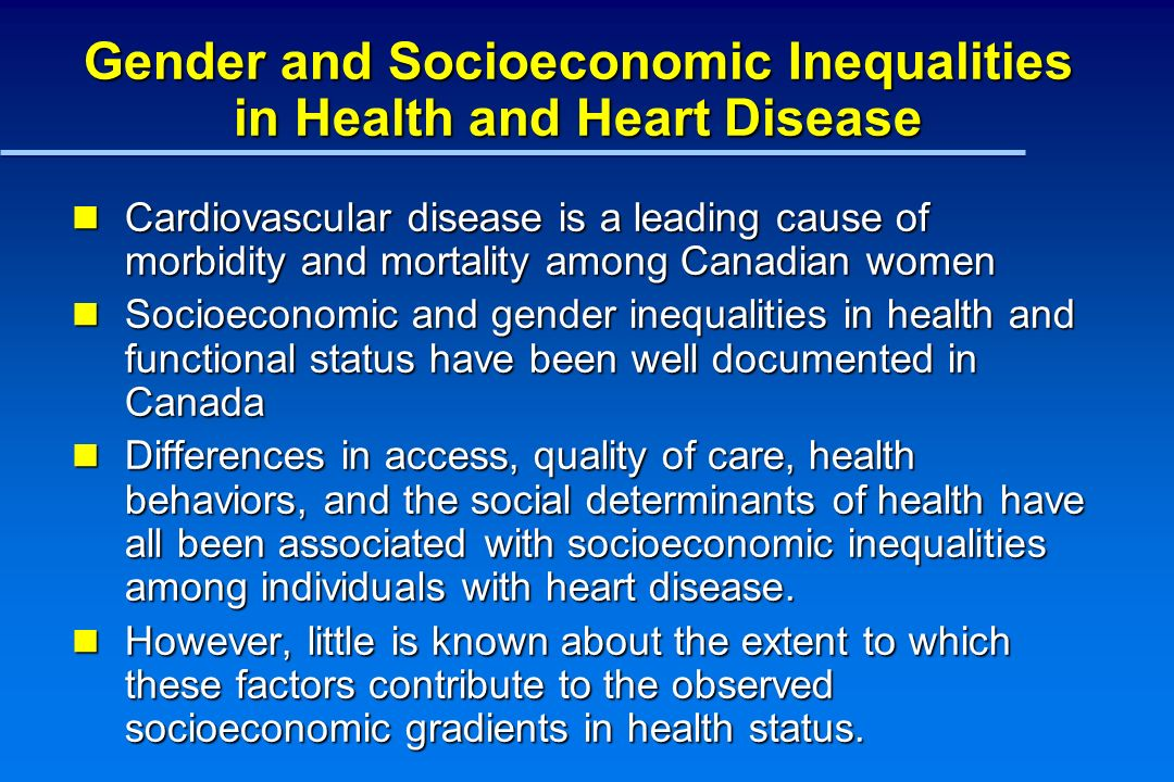 Age Adjusted Odds of Fair or Poor Health Among Canadian Women with Heart Disease