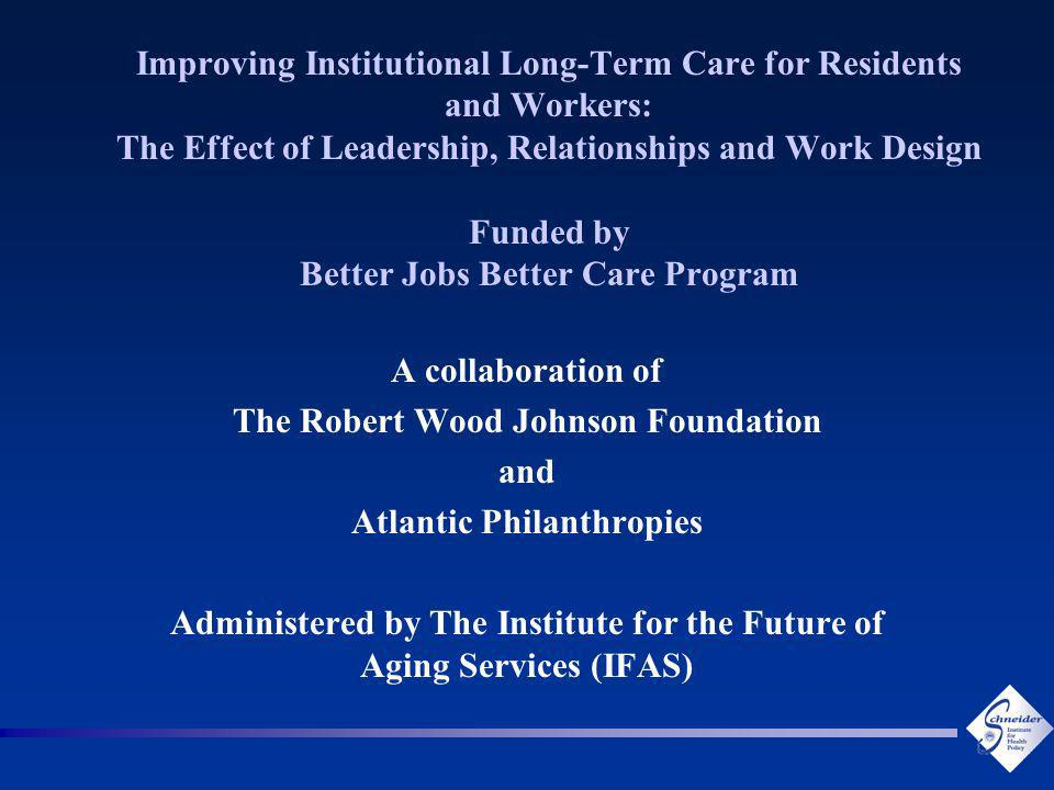 13 Is High-Commitment Human Resources Management Relevant to Nursing Homes?
