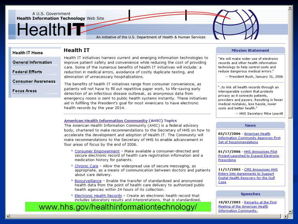 www.hhs.gov/healthinformationtechnology/