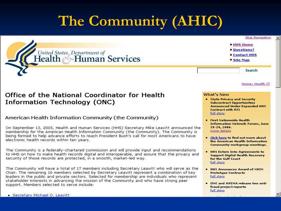 The Community (AHIC)