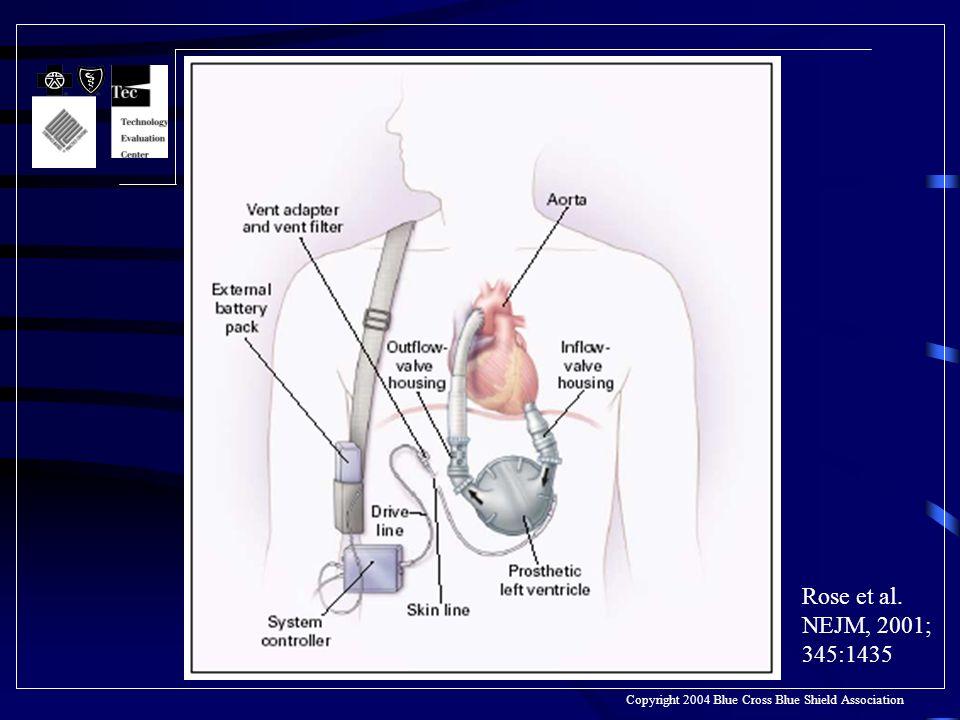 Rose et al. NEJM, 2001; 345:1435