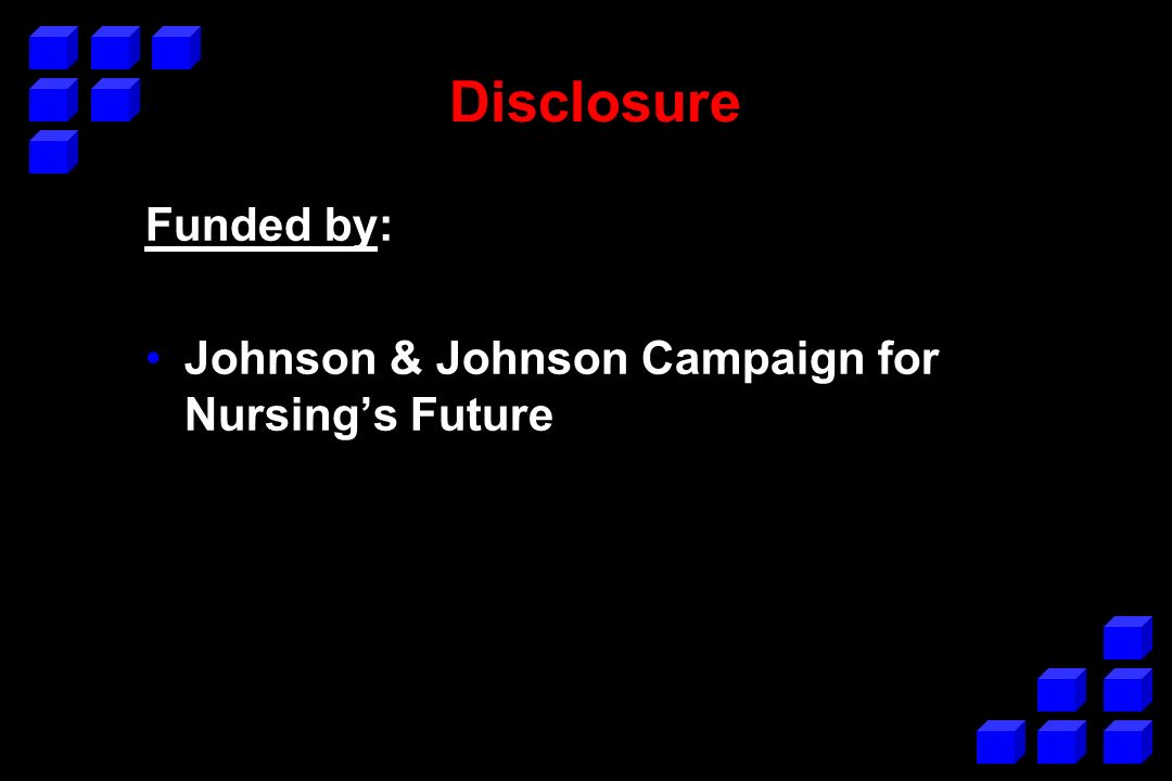 Data come from … Project to Evaluate the Johnson & Johnson Campaign for Nursings Future Project Personnel: –Peter Buerhaus (PI) and Robert Dittus Vanderbilt University Medical Center –Karen Donelan (Co-PI) and Cate DesRoches Massachusetts General Hospital