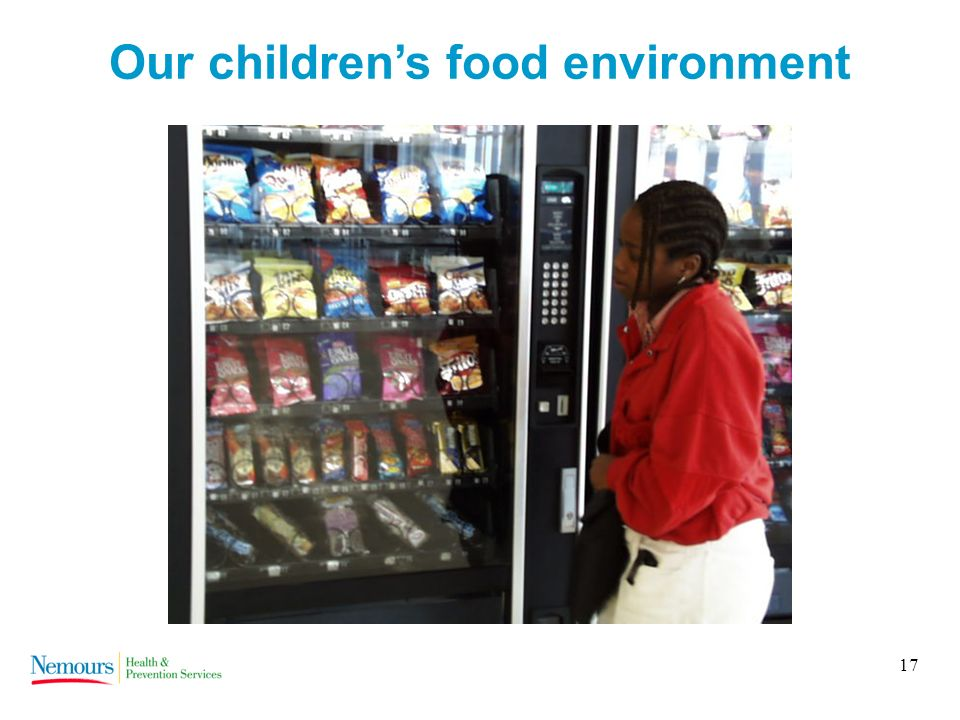 17 Our childrens food environment