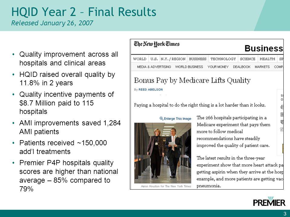 4 Dramatic Improvement Continues Composite Quality Score