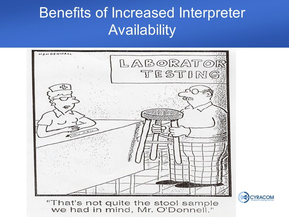 Benefits of Increased Interpreter Availability