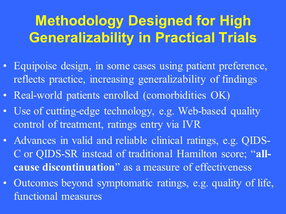 CATIE HIGHLIGHTS –All antipsychotic medications studied are effective but have substantial limitations reflected by high discontinuation rates –Olanzapine and Clozapine show the best efficacy but the worst side effects –Perphenazine was surprisingly comparable to atypicals –Differences in types and severity of side effects –Ziprasidone has least weight and metabolic side effects (Aripiprazole was released later)