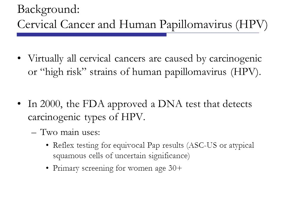 Conclusions Uptake of the HPV DNA test was sustained by introduction of multiple sets of clinical guidelines.