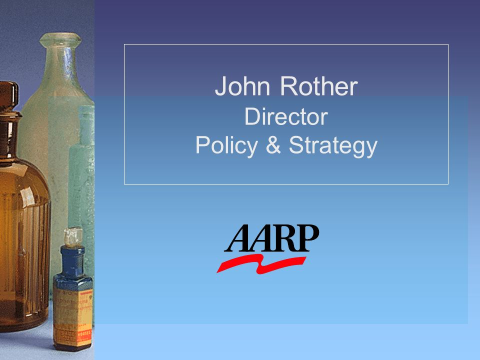 John Rother Director Policy & Strategy