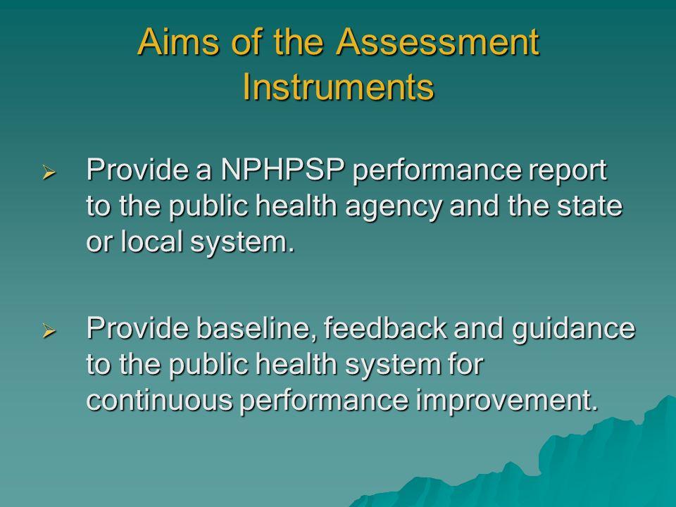 Performance Scoring Level 1 & Overall Indicator Scores are averaged to obtain 10 EPHS scoresLevel 1.