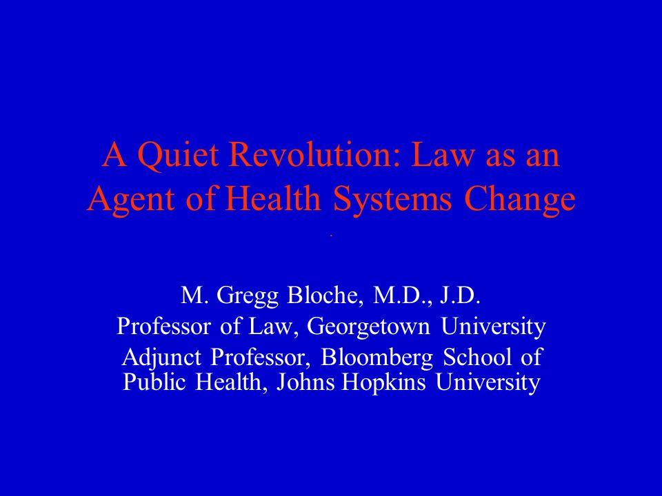 How Do Law & Politics Shape Health Systems Change.