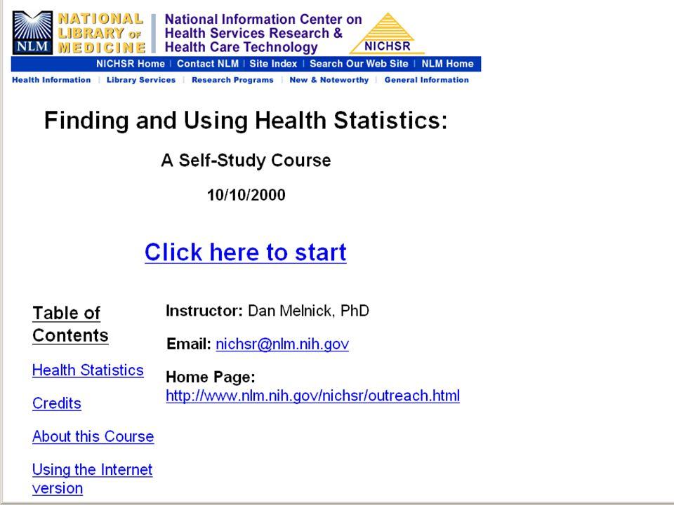 Health Stats