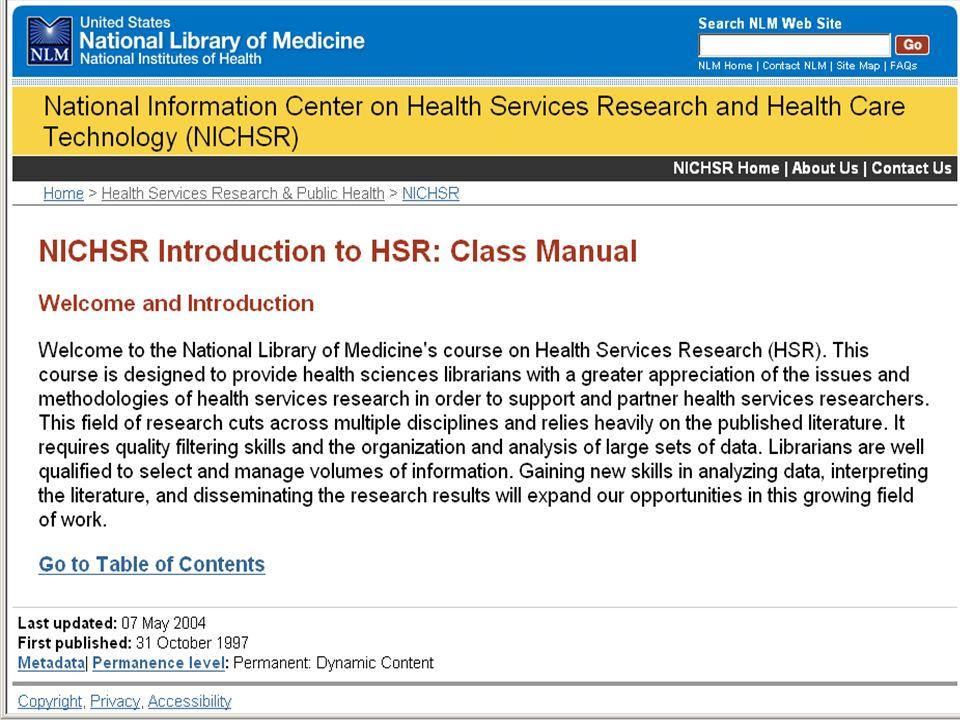 HSR Class Manual