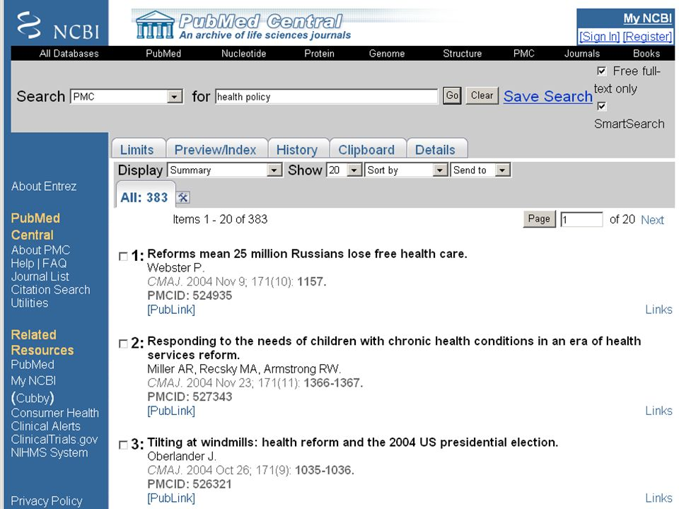 PubMed Central (3)