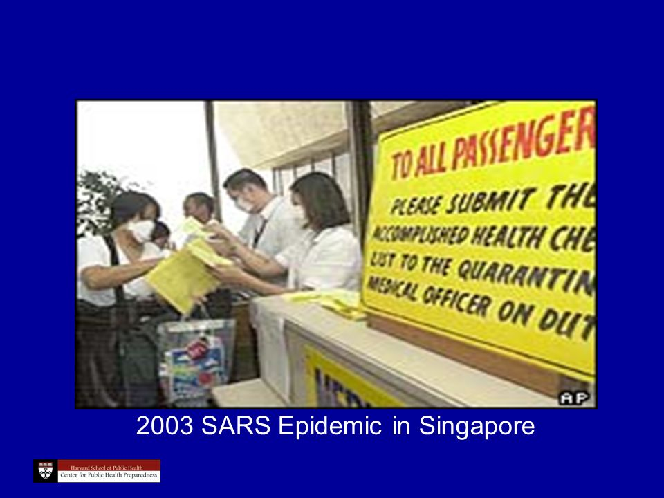 2003 SARS Epidemic in Singapore