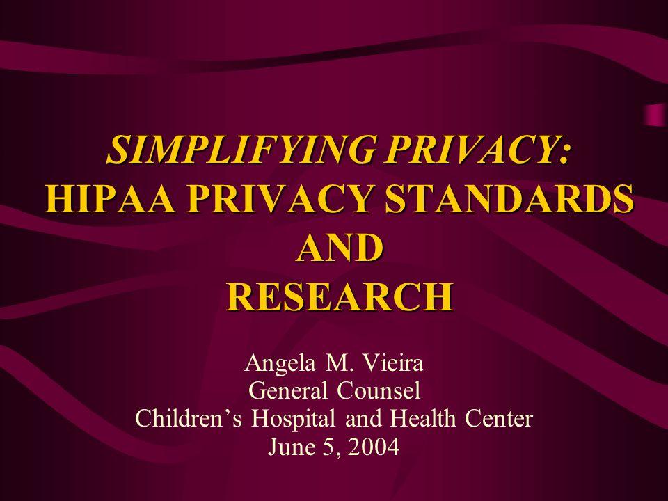 Privacy Rule vs.