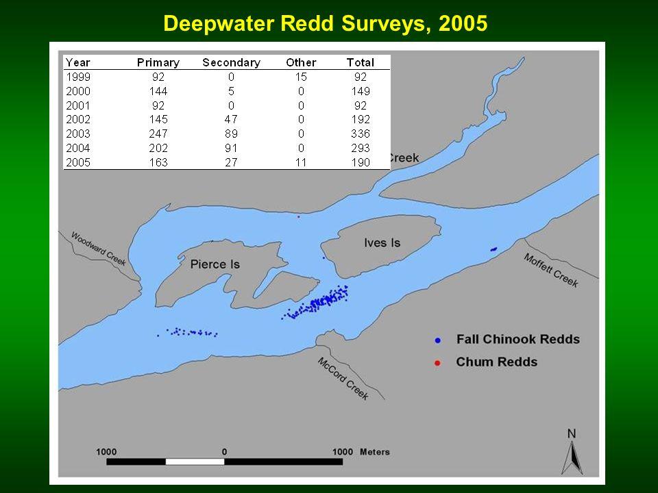 Deepwater Redd Surveys, 2005