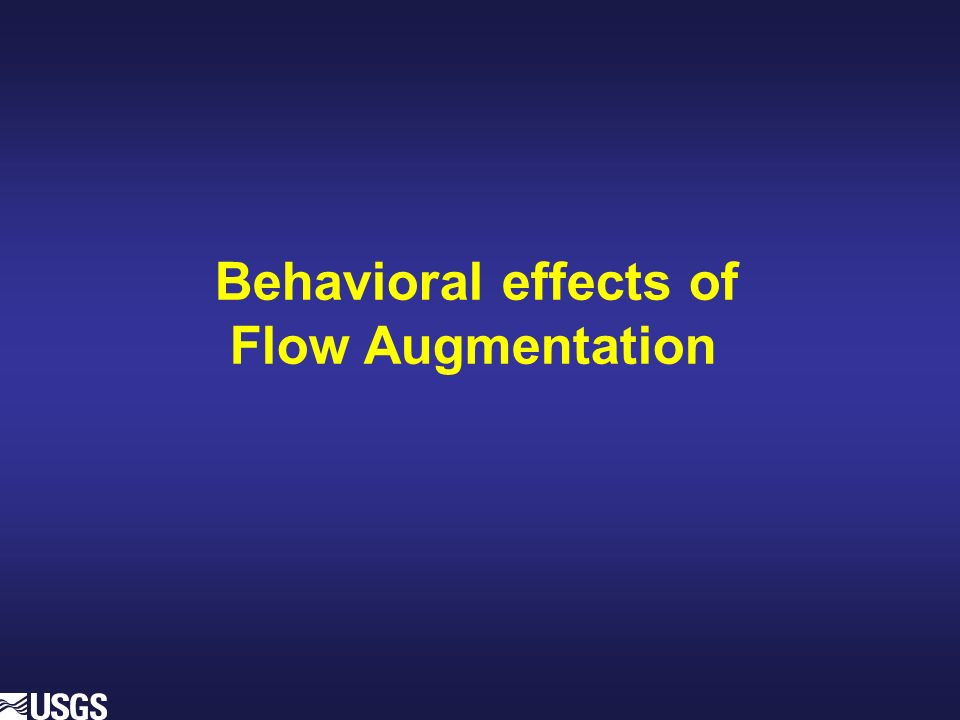 Behavioral effects of Flow Augmentation