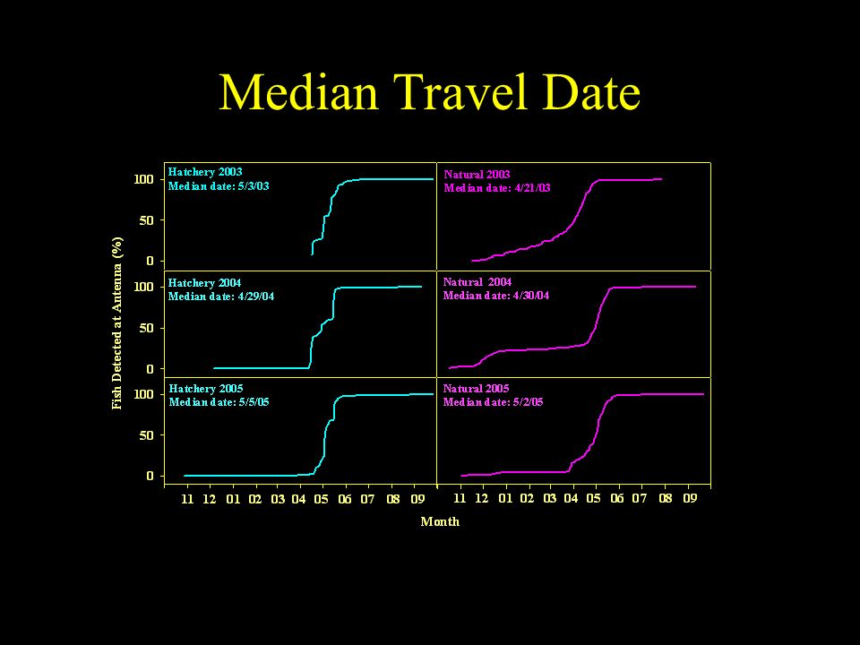 Median Travel Date
