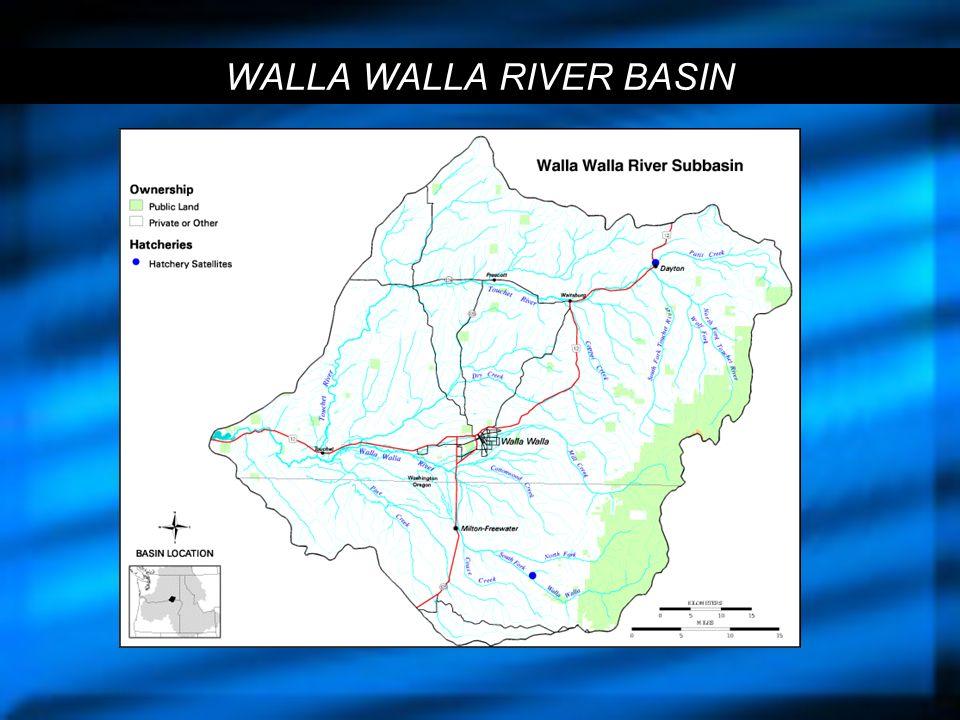 WALLA WALLA RIVER BASIN