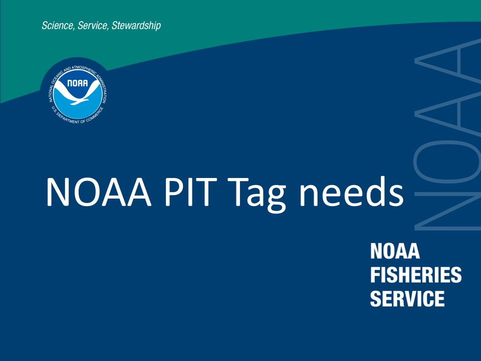 NOAA needs to develop an internal PIT tag plan integrating research and monitoring objectives