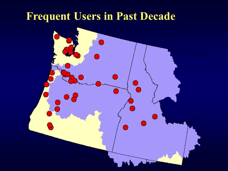 Frequent Users in Past Decade
