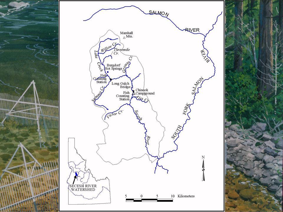 Figure 1. Secesh River drainage.
