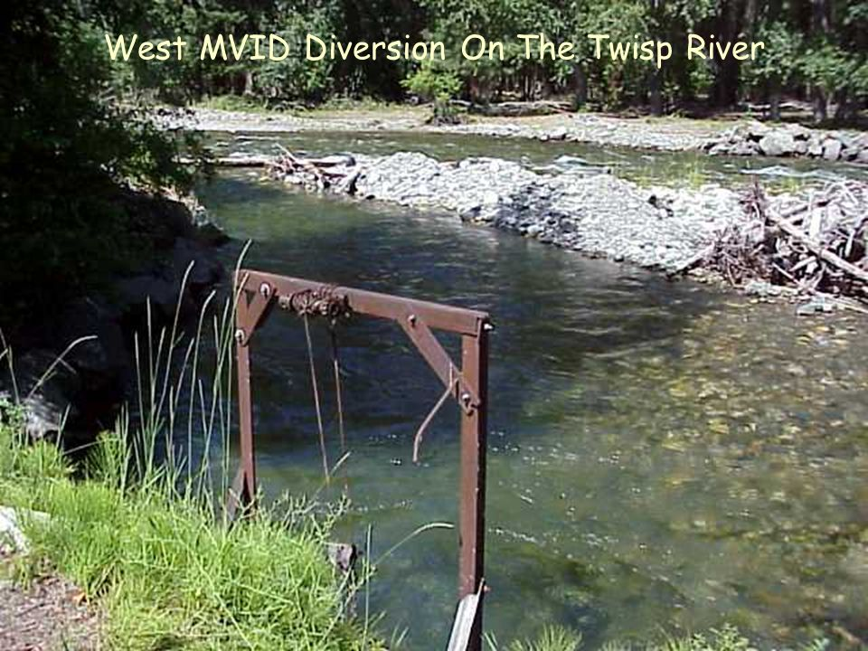 West MVID Diversion On The Twisp River