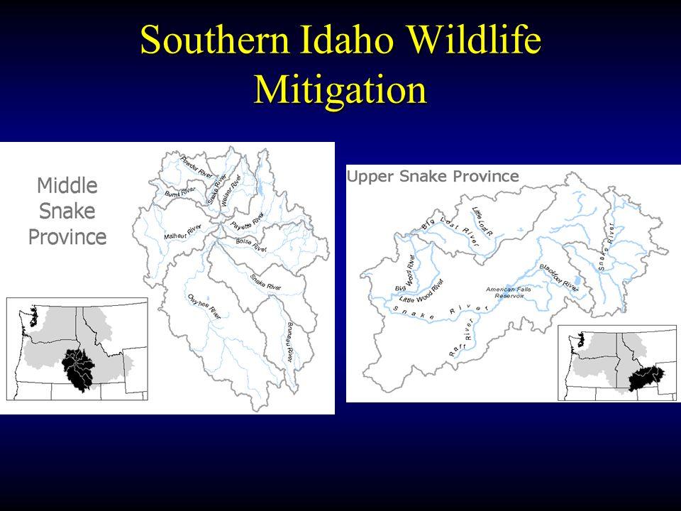 Southern Idaho Wildlife Mitigation