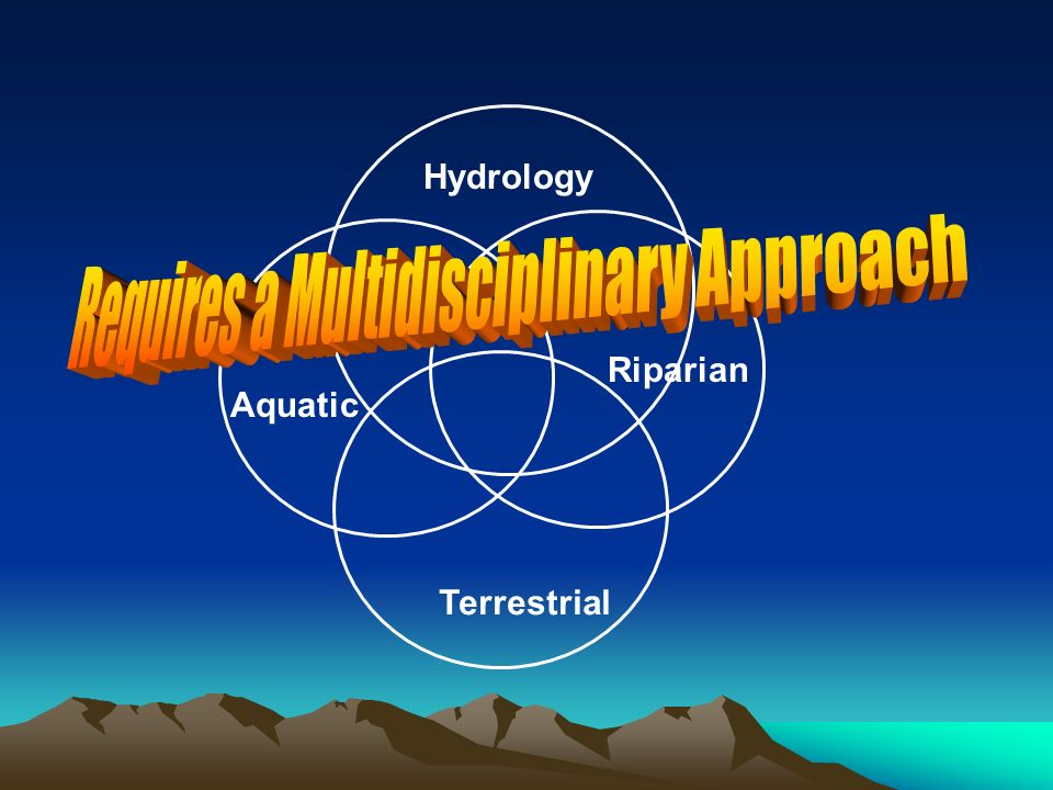 Aquatic Riparian Terrestrial Hydrology