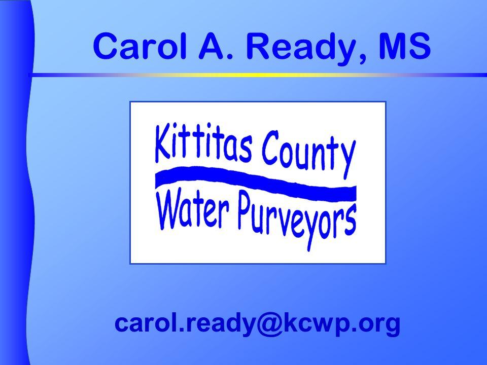 Carol A. Ready, MS carol.ready@kcwp.org