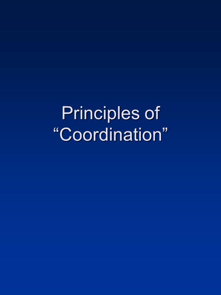 Principles of Coordination
