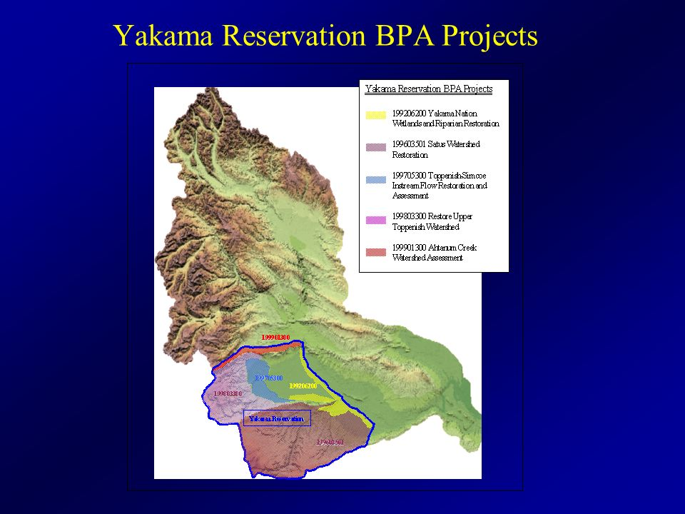 Yakama Reservation BPA Projects