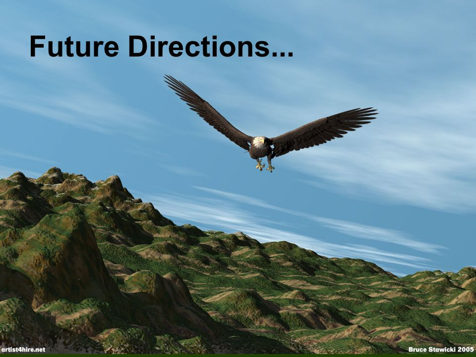 Future Directions...