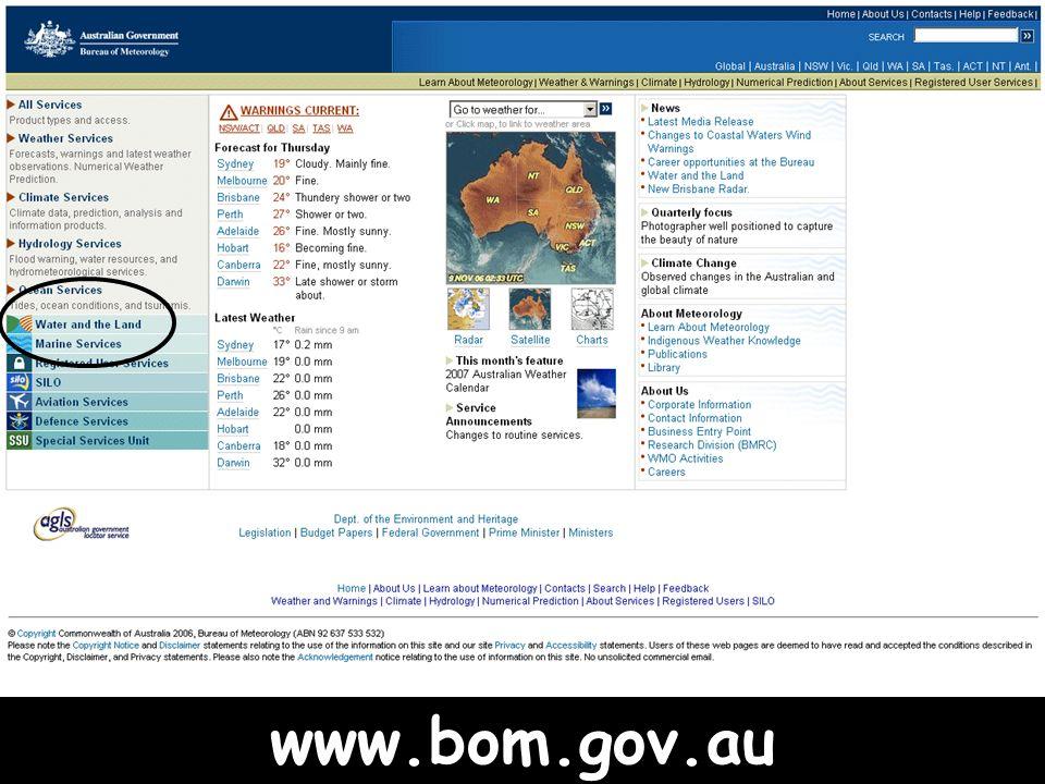 www.bom.gov.au