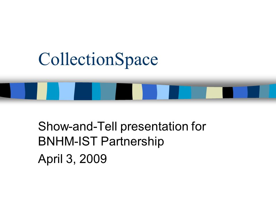 What is CollectionSpace.