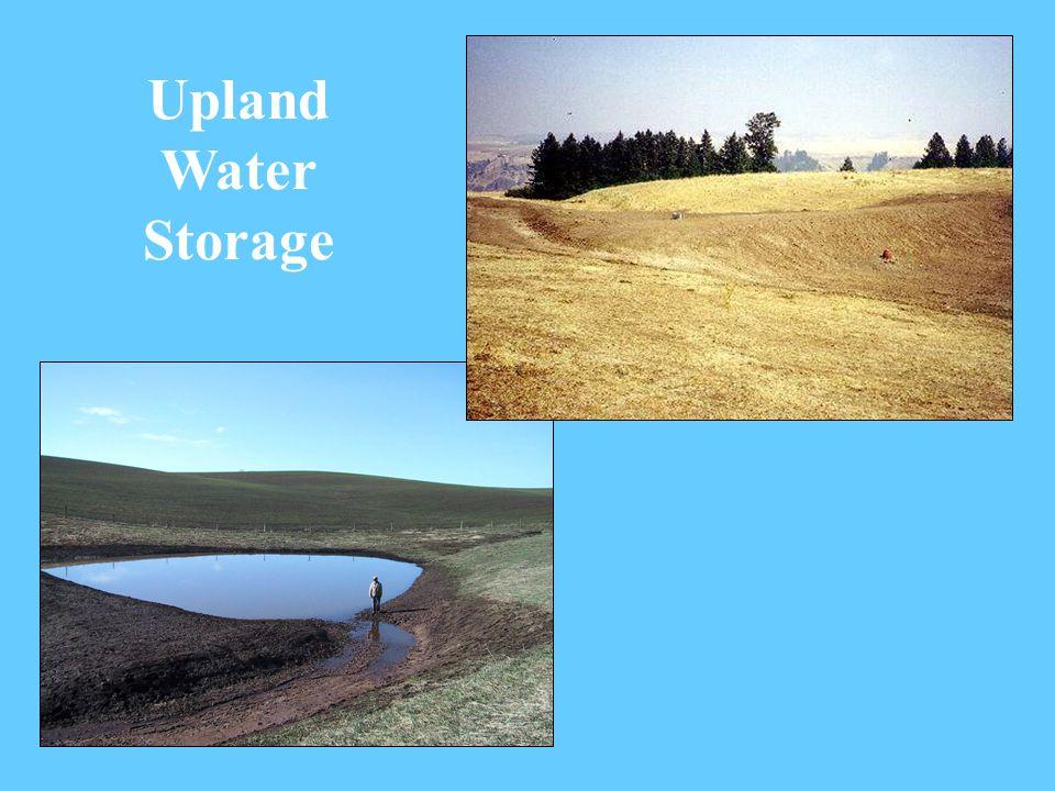 Upland Water Storage