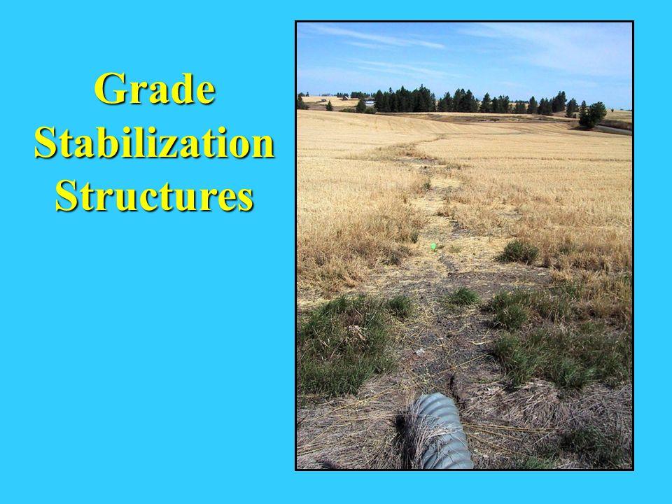 Grade Stabilization Structures