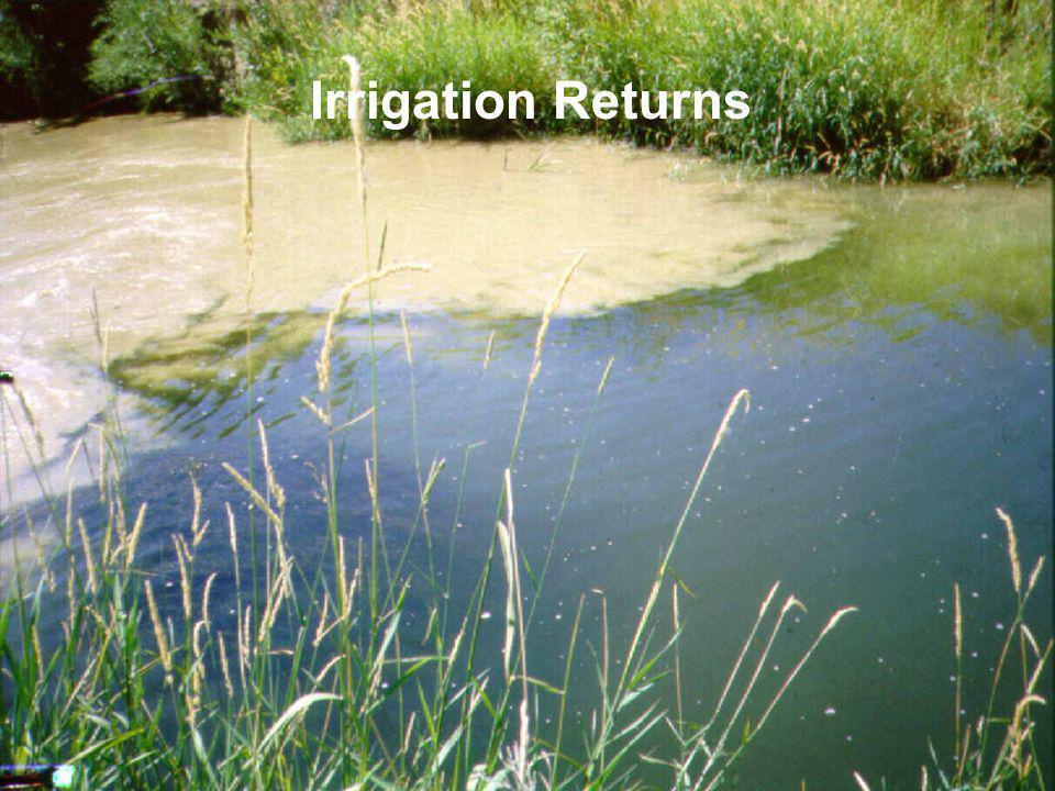 Irrigation Returns