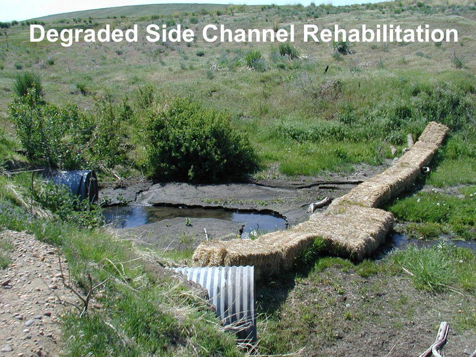 Degraded Side Channel Rehabilitation