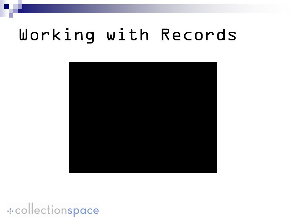 Working with Records