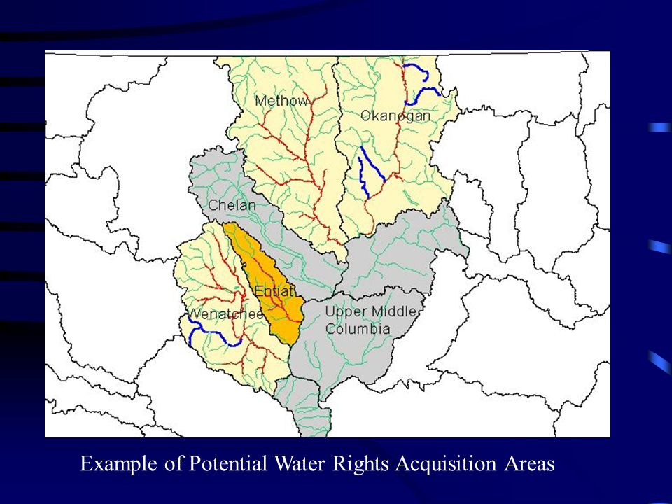 Need to know what we are buying Substantial and complex technical, legal and economic issues Determine transferability Evaluate amount of water for transfer Address issues of protection of other water rights and public interest Physically make water available for use where and when needed Ensure water can be kept in stream
