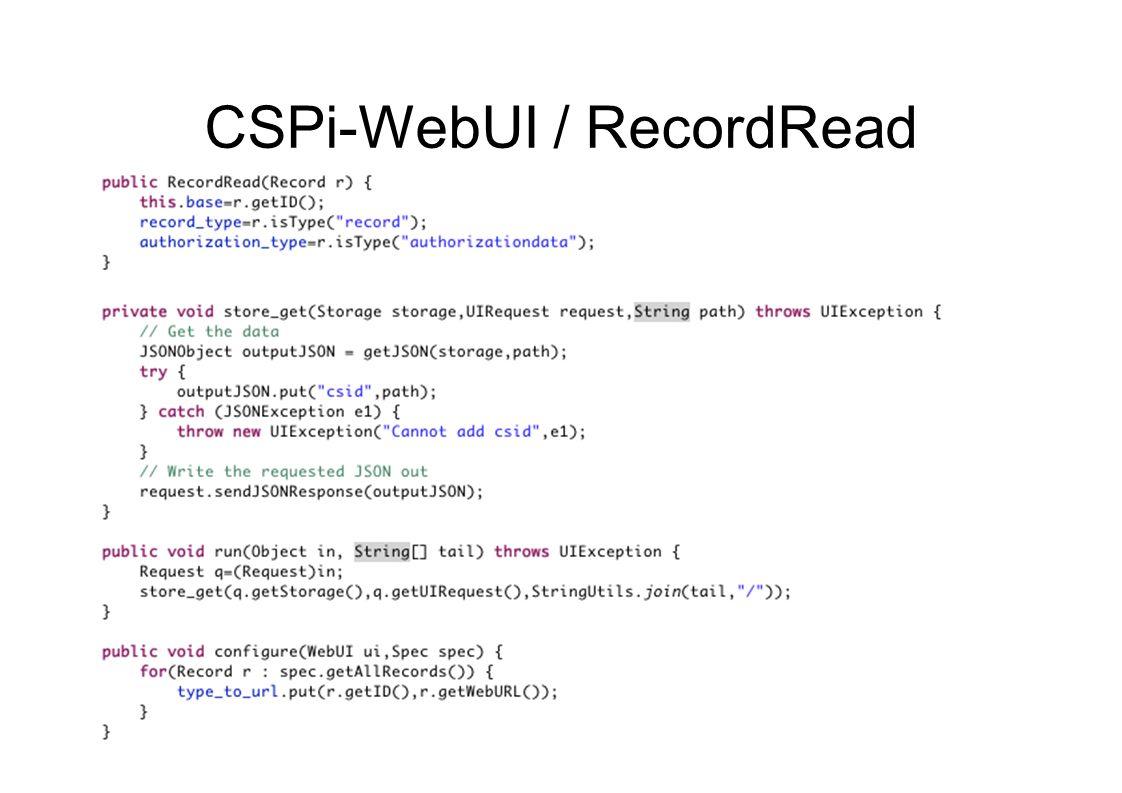 CSPi-WebUI / RecordRead
