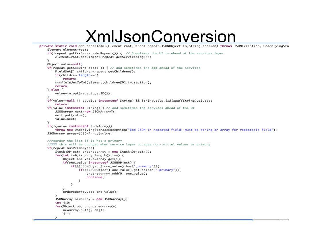 XmlJsonConversion