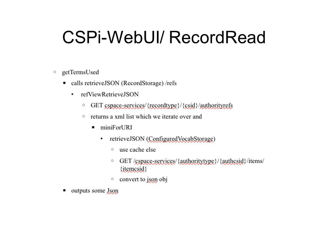 CSPi-WebUI/ RecordRead