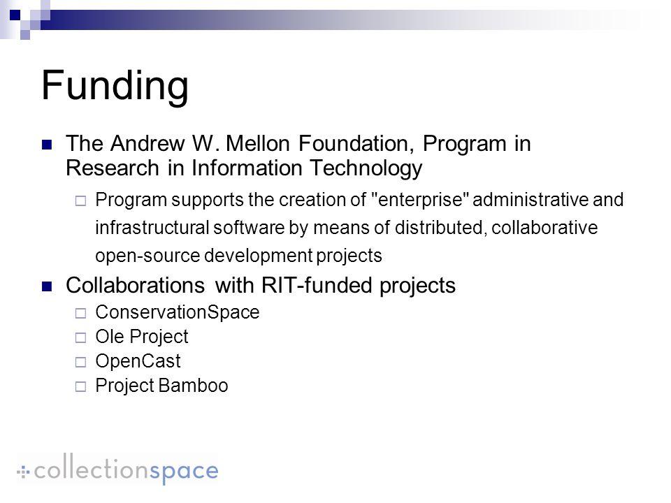 Funding The Andrew W.