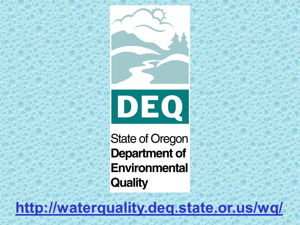 http://waterquality.deq.state.or.us/wq/