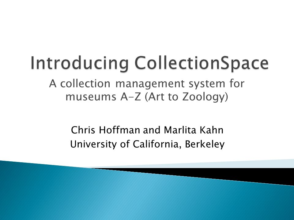 A platform for sharing collections information Designed to address the needs of all museum domains from cultural heritage to natural science collections Highly customizable and configurable Web-based Interoperable Local or hosted deployments Communities of practice